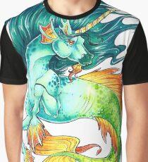Unicorn Hippocampus Graphic T-Shirt