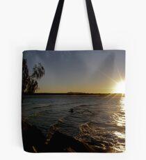 Noosa River Sunset Tote Bag