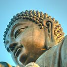 A Sunset Warms Buddhas Thoughts by paulmcardle