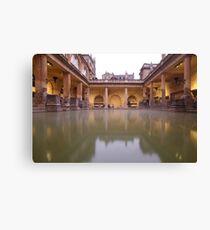 Roman Bath, Bath UK Canvas Print