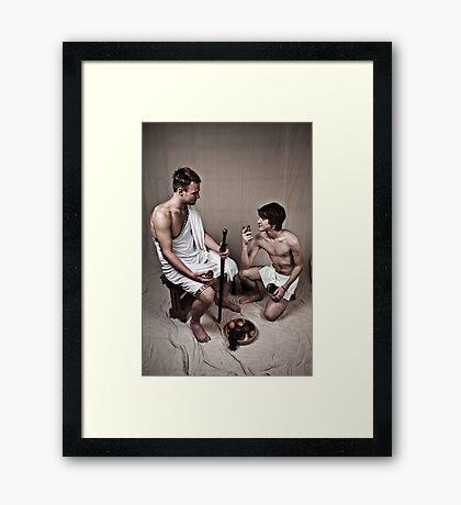 LOA - Hercules and his Boy Framed Print