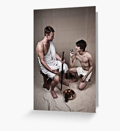 LOA - Hercules and his Boy Greeting Card