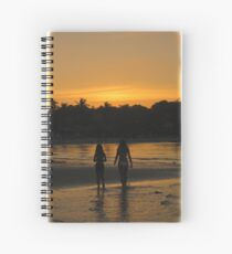 Beach Attractions Spiral Notebook