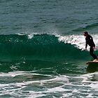 Surfing in Great Ocean by Mukesh Srivastava