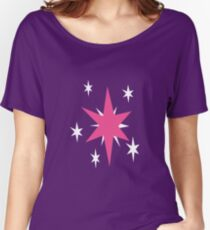 Twilight Sparkle Cutie Mark - My Little Pony Friendship is Magic Women's Relaxed Fit T-Shirt