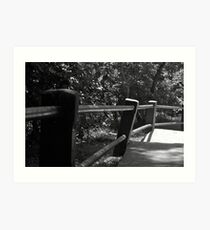 The crooked baluster Art Print