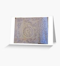 0160 LESS FRICTION ELECTRIC GENERATOR LFEG 01102012 Greeting Card