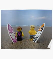 Plastic Surf Poster