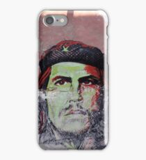 che guevara cuban street art iPhone Case/Skin