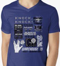 Claudia Quotes Men's V-Neck T-Shirt