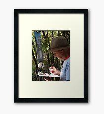The Artist - El Artista Framed Print