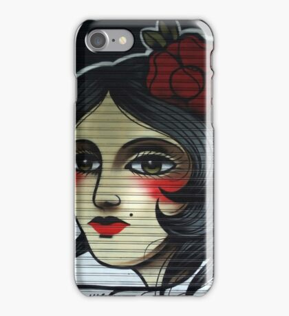 flamenco girl, pamplona spain iPhone Case/Skin