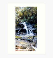 Leura Cascades Art Print