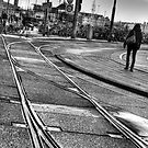 tram tracks by Katherine Maguire