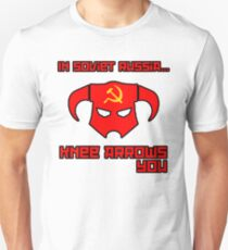Soviet Knees Have Arrows... Unisex T-Shirt