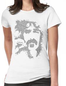 Frank Zappa Garabato Womens Fitted T-Shirt