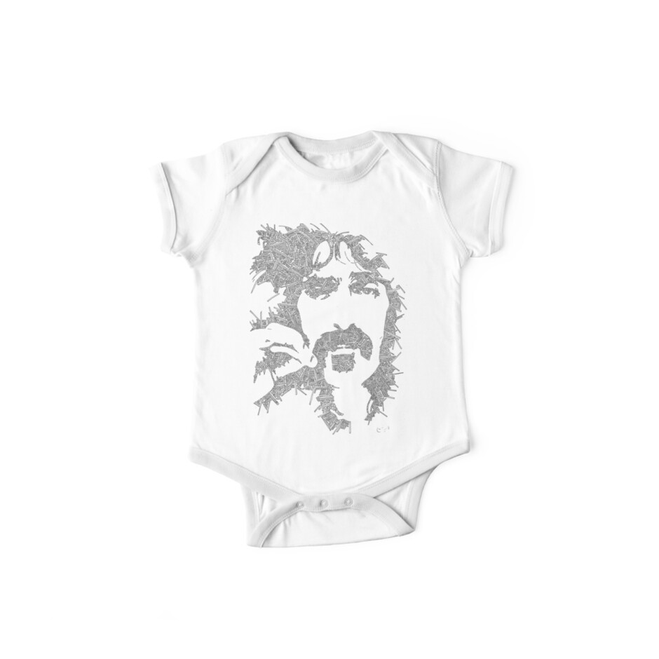 Frank Zappa Garabato by JeffBowan
