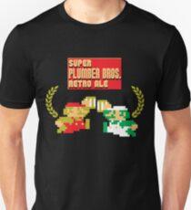 Super Plumber Bros. Retro Ale Alternate Unisex T-Shirt