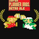Super Plumber Bros. Retro Ale Alternate by theyellowsnowco