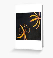 banana peel Greeting Card
