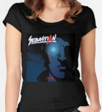 Total VS Nightcall (Cover Artist Swap) Women's Fitted Scoop T-Shirt