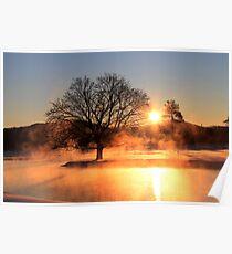Sunrise at Boyne Mountain Resort Poster