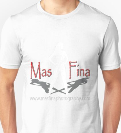 Mas Fina Photography logo T-Shirt