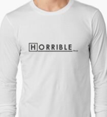 DR. HORRIBLE, PHD. Long Sleeve T-Shirt