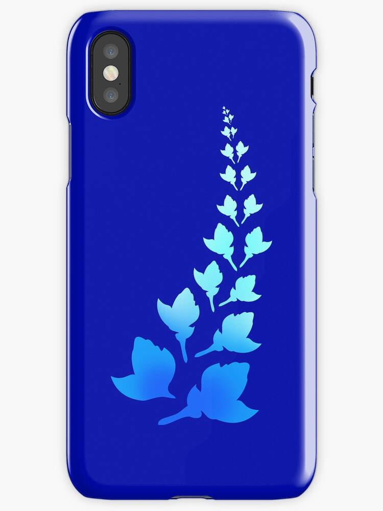 Cerulean [Print and iPhone / iPod Case] by Damienne Bingham