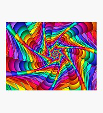 Web of Color Photographic Print