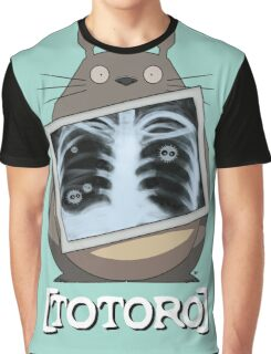 Scrubs Totoro Graphic T-Shirt
