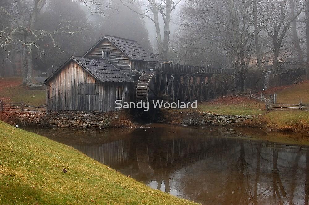 Mabry Mill by Sandy Woolard