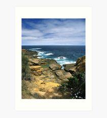 """Where Land Meets Sea"" ∞ Bermagui, NSW - Australia Art Print"