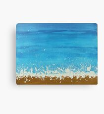 Surf Sun n' Sand Canvas Print