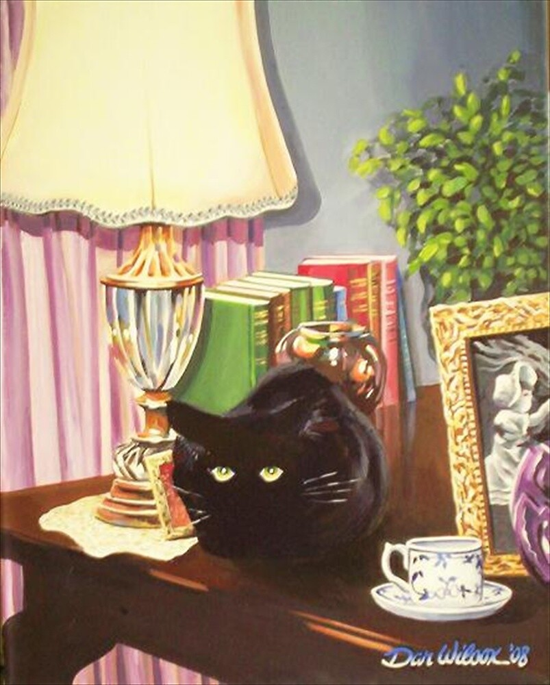 Still life ? with Cat by Dan Wilcox