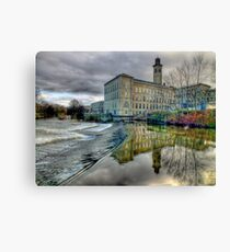 Salts Mill - HDR Canvas Print