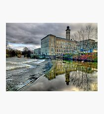 Salts Mill - HDR Photographic Print