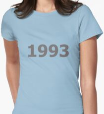 DOB - 1993 Women's Fitted T-Shirt