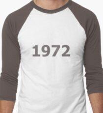 DOB - 1972 Men's Baseball ¾ T-Shirt