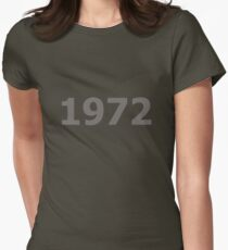 DOB - 1972 Women's Fitted T-Shirt