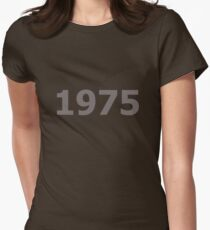 DOB - 1975 Women's Fitted T-Shirt