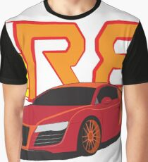 Iron Audi R8 Graphic T-Shirt
