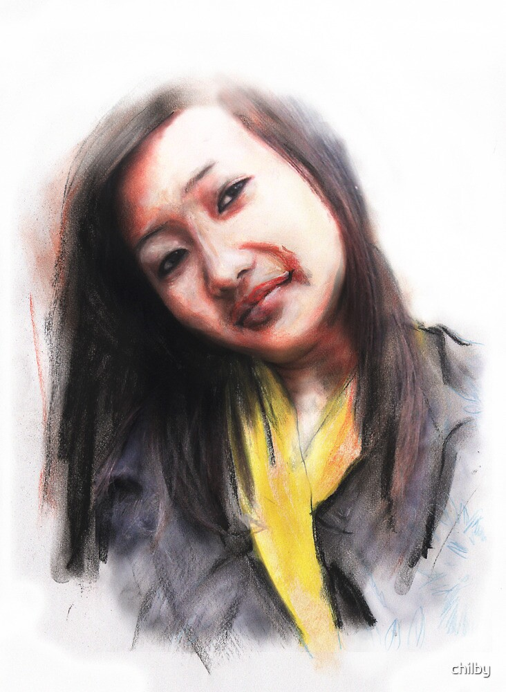 Navina. Bhutanese Woman by chilby