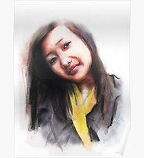 Navina. Bhutanese Woman Poster