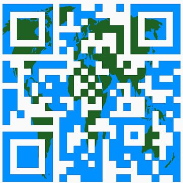 QR World Map by danzzig