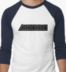 Architecture Men's Baseball ¾ T-Shirt