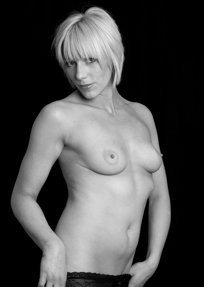 Pretty young woman topless by Gary Freeman