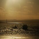 Beached - Holy Island, Northumberland by Carl Eyre