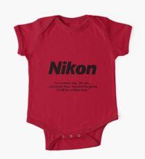 Nikon boy 'till i die! Kids Clothes