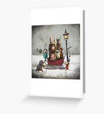 """Winter"" Greeting Card"